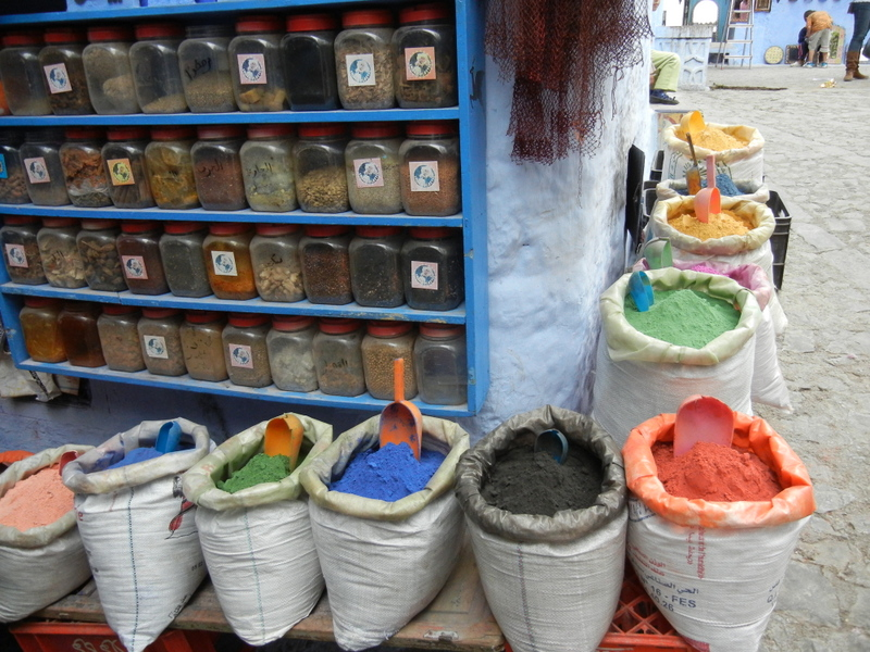 Soap seller, Chefchaoen Morocco