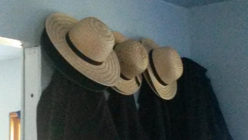 Old Order Amish Men's Hats