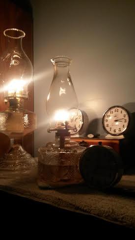 lamp  and clocks