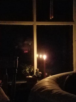 water birth by candle light