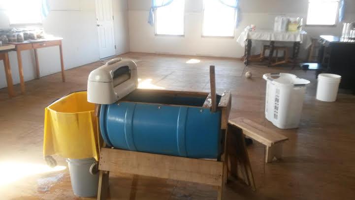 Old order Amish Laundry Machine