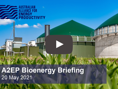 WATCH: A2EP Bioenergy Briefing