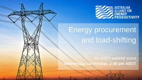WATCH: Energy procurement and load-shifting - 13 October