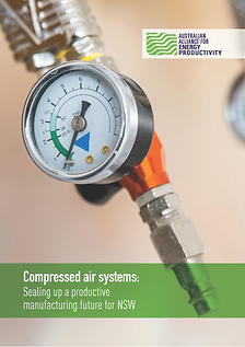 A2EP Compressed Air Report - Cover Image