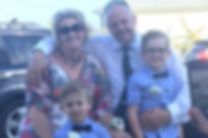 Image of Andy Williams and family