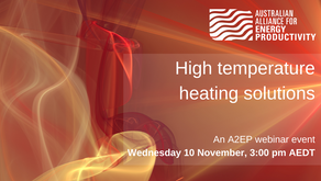 EVENT: High temperature heating solutions - Wednesday 10 November