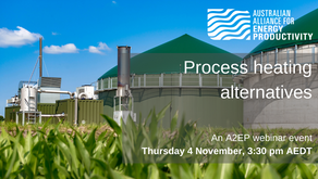 EVENT: Process heating alternatives - Thursday 4 November