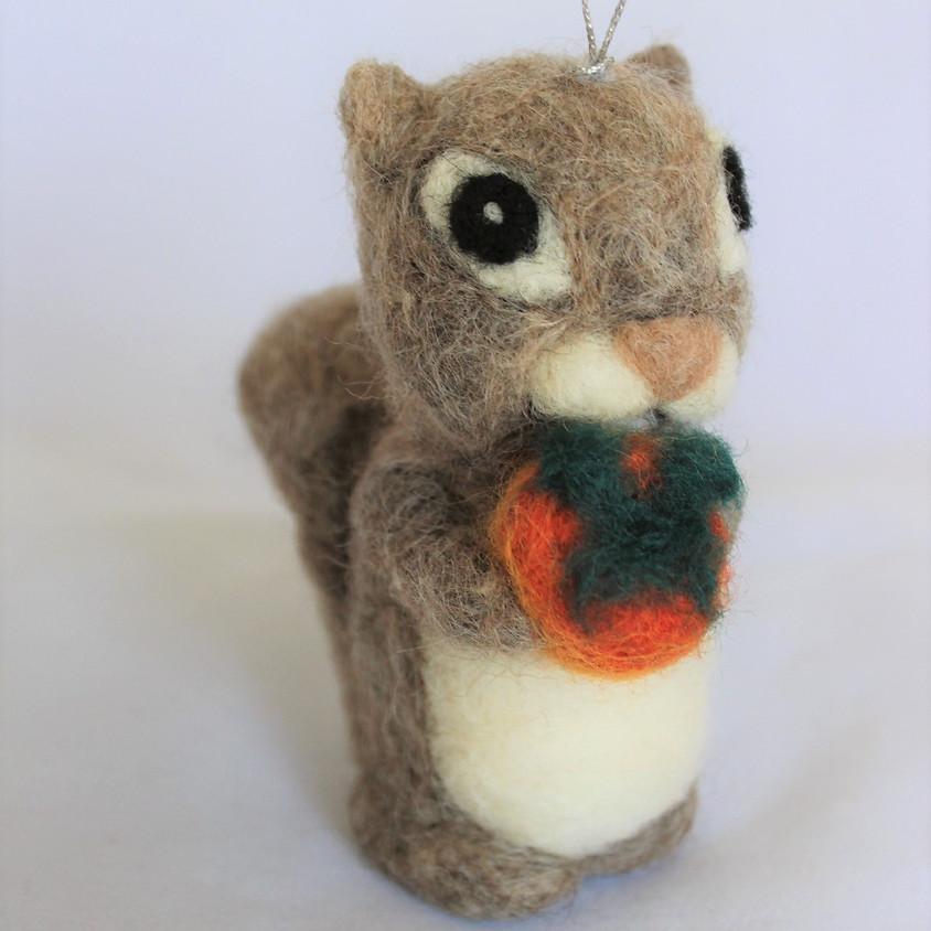 Fuyu the Squirrel Ornament