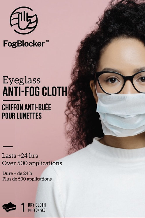FogBlocker Dry Wipe