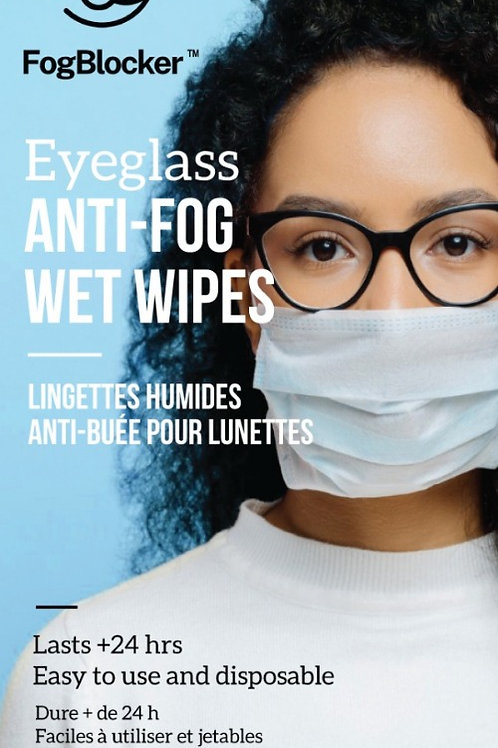FogBlocker Wet Wipes