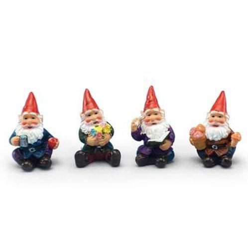 Mini Sitting Gnome