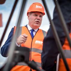 Conor Burns MP Visit to ABP Southampton