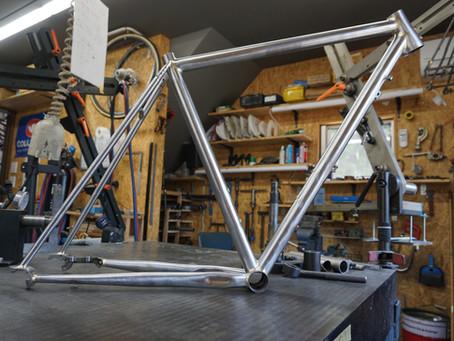 macchi cyclesのGravel Bike完成間近