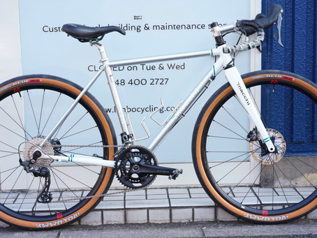 Macchi Cycles Gravel Bike完成!
