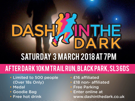 Entries now open for Dash in the Dark