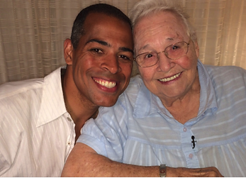 Chris Schauble and birth mother
