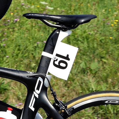 Numeri al telaio semi-rigido - Misura regolamentare UCI - Serie 1-200