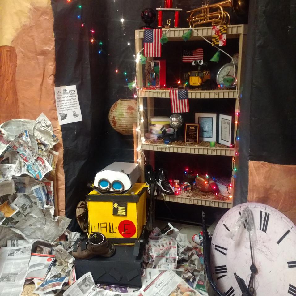 Wall-E Homecoming Wall