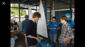 Sailbot Team Collabs with WPI Volunteers