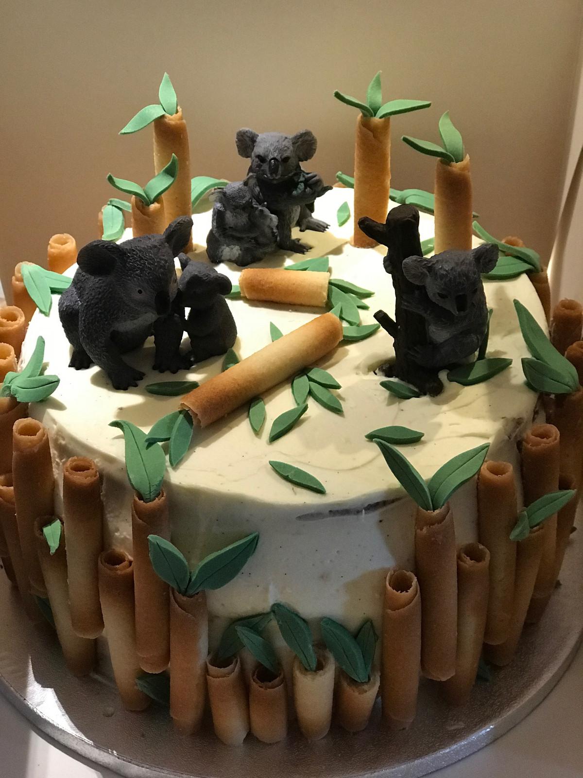 Gâteau Thème Koala