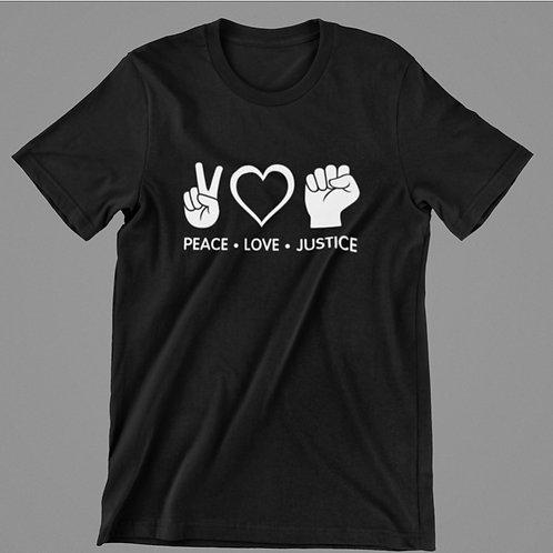 Peace Love Justice