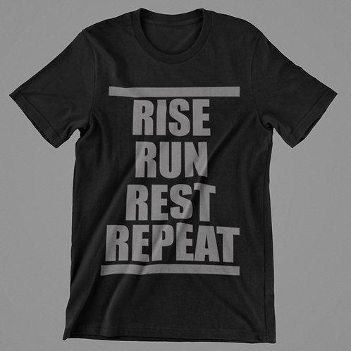 RISE RUN REST REPEAT