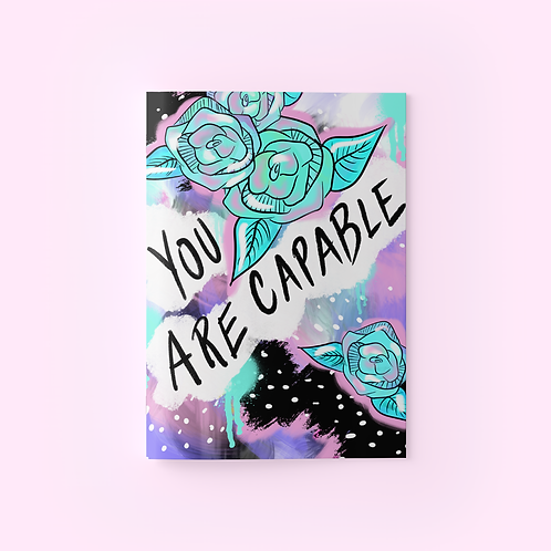 You Are Capable Journal
