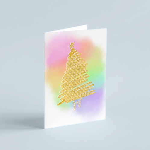 Sparkle Tree Holiday Card