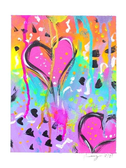 Heart Song Original Art