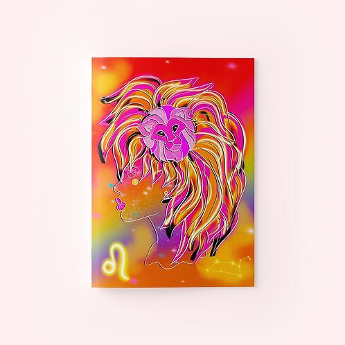 Leo Goddess Zodiac Journal