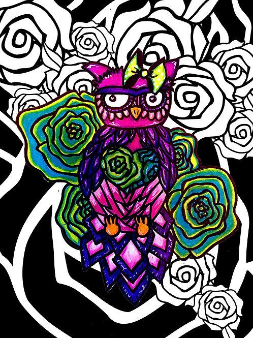 Pretty Pretty Owl (Rose Bud)