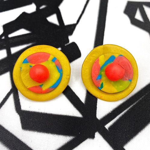 Handmade Clay Earrings