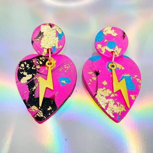 Electrify Handmade Clay Earrings 15