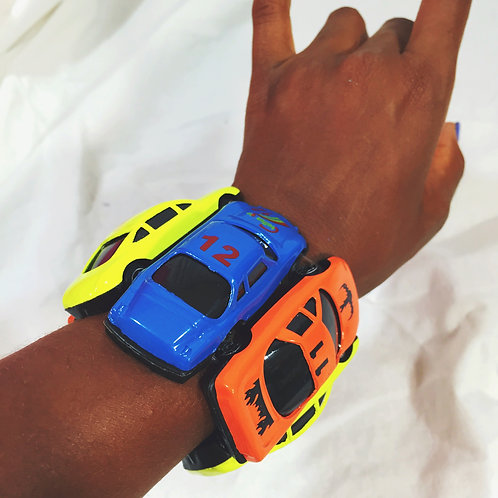 Vroom! Funky Toy Car Stretch Bracelet