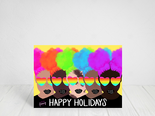 Black Queer Lives Matter Holiday Cards