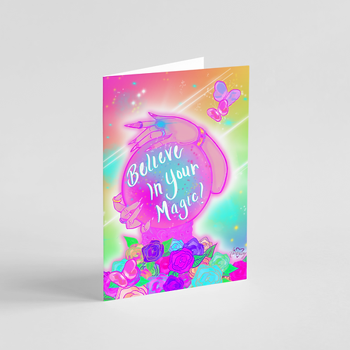 Believe in Your Magic Note Card