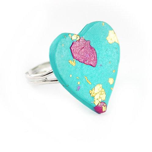 Handmade Clay Ring 2