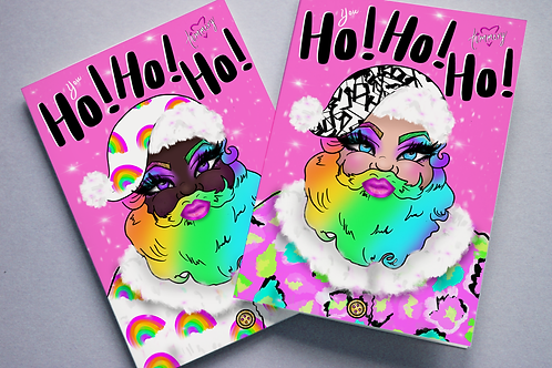 My Santa Is A Drag Queen Holiday Cards-Variety Pack (10)