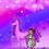 Thumbnail: Violet Unicorn Dreams Art Print
