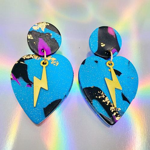 Electrify Handmade Clay Earrings 12