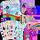 Thumbnail: Nova's Pink Boots Board Book + 8x10 Art Print + Sticker Pack