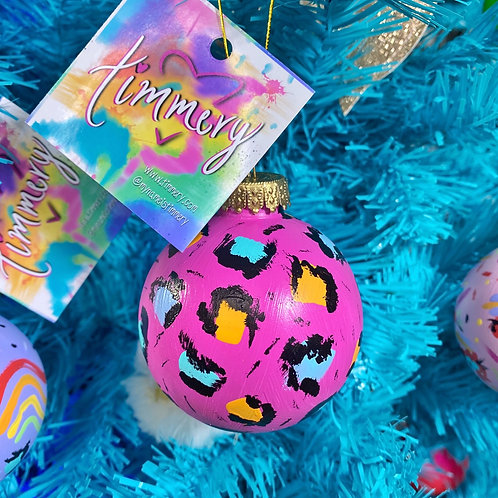 Limited Edition Hand Painted Christmas Ornament