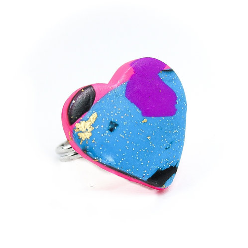 Handmade Clay Ring 15