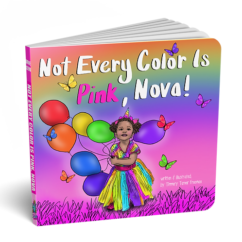 Not Every Color Is Pink, Nova! Digital Book