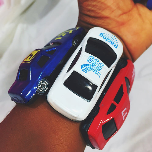 Vroom! Americana Toy Car Stretch Bracelet