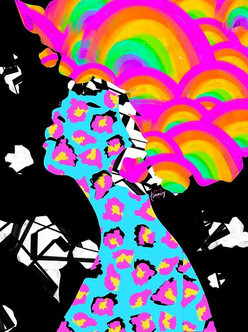 Vibrational Characteristics #4 Art Print