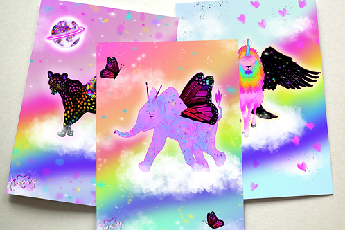 Hybrid Animals Assorted Note Cards