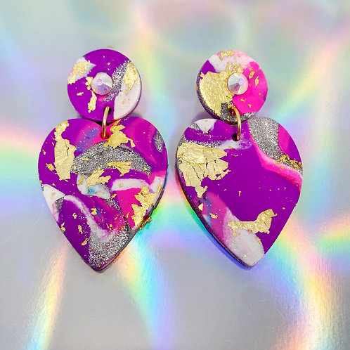 Electrify Handmade Clay Earrings 27