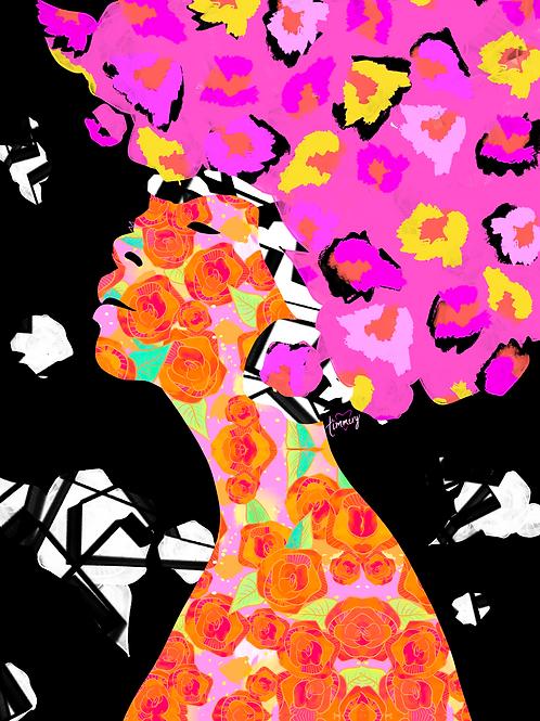 Vibrational Characteristics #2 Art Print