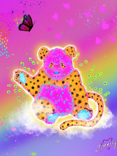 Peetah Art Print